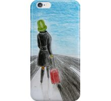 Lonely voyage iPhone Case/Skin