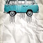 vw kombi paint job by vinpez