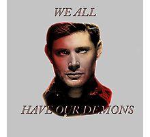 "Dean – ""Demons"" Photographic Print"