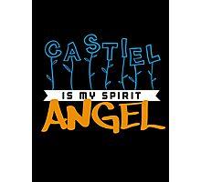 Castiel Is My Spirit Angel Photographic Print