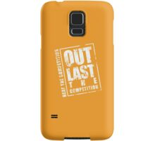 Out Last The Competition - Yellow Samsung Galaxy Case/Skin