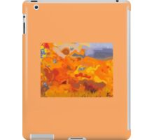 Water Color Fire  iPad Case/Skin