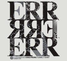 DERTEE002 - A DiscError Recordings Promotional T-Shirt (Black) by DiscError