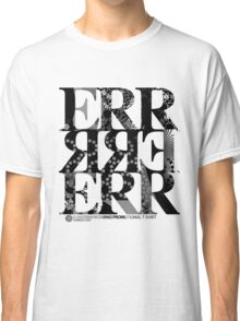DERTEE002 - A DiscError Recordings Promotional T-Shirt (Black) Classic T-Shirt