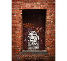 Slightly Glum Doorway Photographic Print
