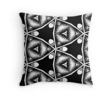 Wobbly Angles Throw Pillow