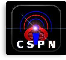 CSPN logo Canvas Print