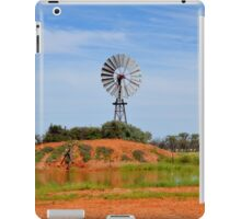 Outback Windmill (after rain) iPad Case/Skin