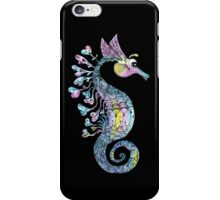 Creative Watercolor Seahorse iPhone Case/Skin