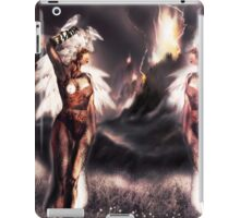 Ambient Electra [Digital Figure Drawing...Mirrored version] iPad Case/Skin