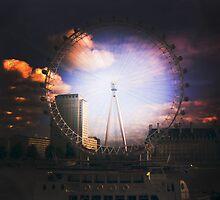 London Eye by Addnan