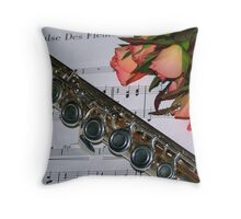 Valse Des Fleurs Throw Pillow