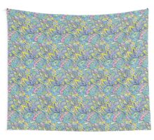 Indian Candy Color Pattern Wall Tapestry