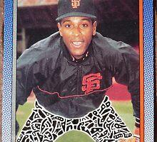 218 - Ernie Riles by Foob's Baseball Cards