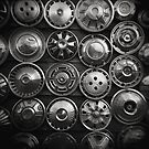 I want my hubcap back... by Haydn Williams