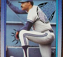 221 - Cito Gaston by Foob's Baseball Cards