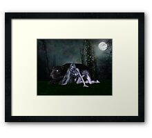 Night Stalker .. the beast Framed Print