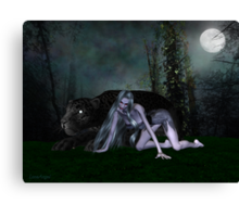 Night Stalker .. the beast Canvas Print
