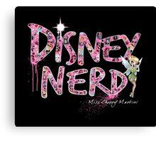 Disney Nerd Canvas Print