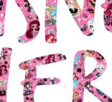 Disney Nerd Sticker