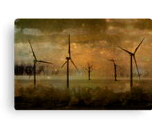 Power Of Wind Canvas Print