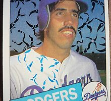 226 - Sid Bream by Foob's Baseball Cards