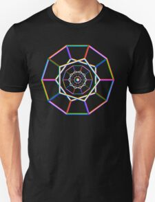'Dodecas and Sphere (Rainbow)' T-Shirt