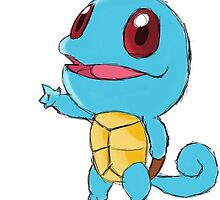 #007 Squirtle Kanto region by Trending4Life