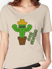 Cool Cactus Women's Relaxed Fit T-Shirt