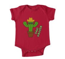 Cool Cactus One Piece - Short Sleeve