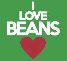 I love beans by onebaretree