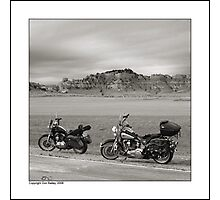 """A Few Buttes"" Photographic Print"