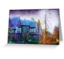 Enchanted Tudor Greeting Card
