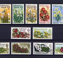 Falkland Islands Stamps by Robert Abraham