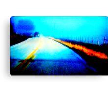 road blues Canvas Print