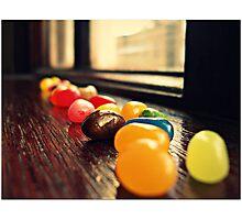 Jelly Line Photographic Print