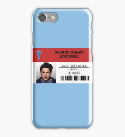 John Dorian - Scrubs MD iPhone Case/Skin