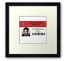 John Dorian - Scrubs MD Framed Print