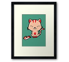 Proud kitty... Framed Print