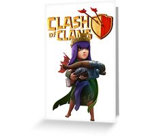 Clash of Clans - Archer Queen Greeting Card