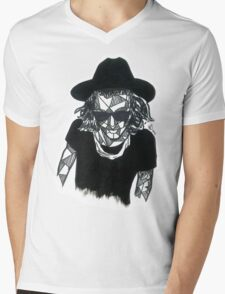 Geometric Harry Styles Mens V-Neck T-Shirt
