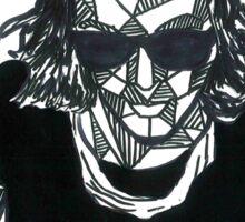 Geometric Harry Styles Sticker