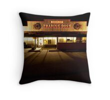Trading Post, Mayne Island Throw Pillow
