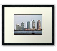 Nostalgic skyline Framed Print