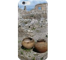 Almost intact among the ruins. iPhone Case/Skin
