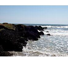 Rocky Seas Photographic Print