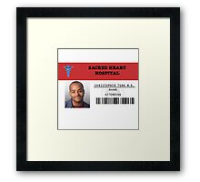 Christopher Turk - Scrubs MD Framed Print