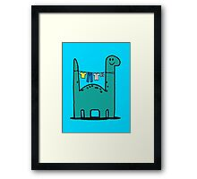 Washinglineasaurus Framed Print