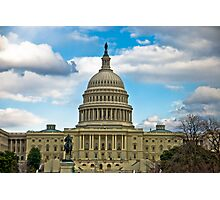 United States Capital - Washington DC Photographic Print