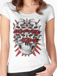 Gutter Kidz Women's Fitted Scoop T-Shirt